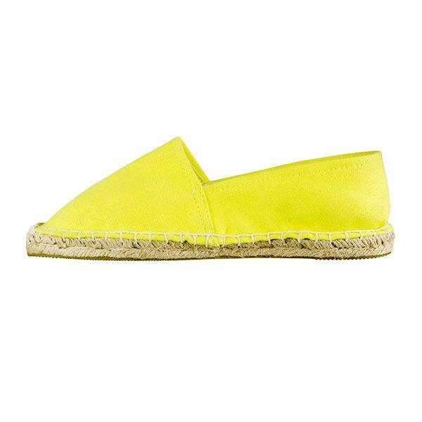 Alpargata jcolivier amarilla