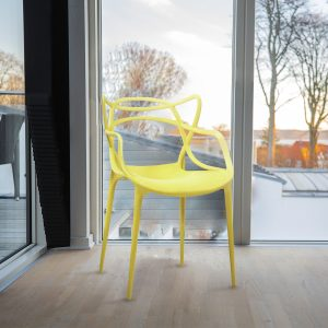 Silla Thonet Yellow