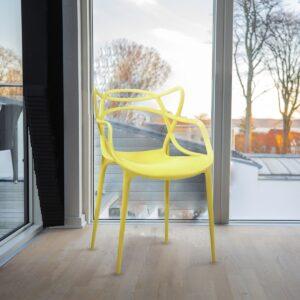 Silla Thonet Yellow